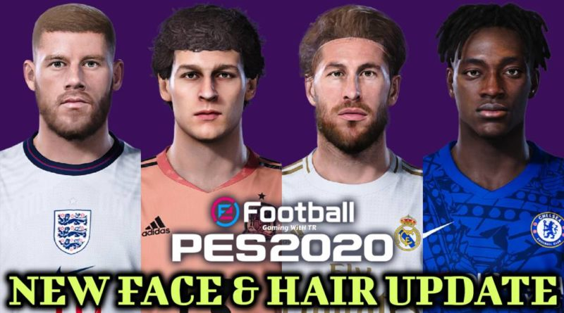 PES 2020 | NEW FACE & HAIR UPDATE | DOWNLOAD & INSTALL