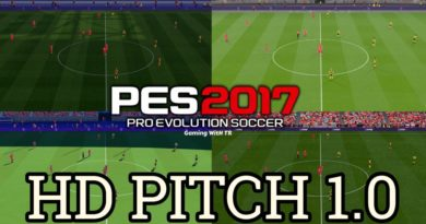 PES 2017 | HD PITCH 1.0 | DOWNLOAD & INSTALL