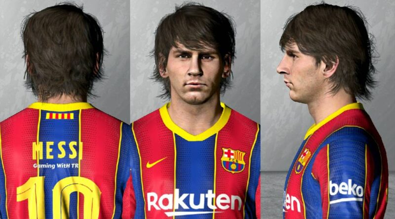 PES 2017   LIONEL MESSI   YOUNG FACE   DOWNLOAD & INSTALL