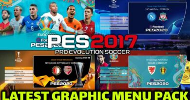 PES 2017 | LATEST GRAPHIC MENU PACK | ALL IN ONE | DOWNLOAD & INSTALL