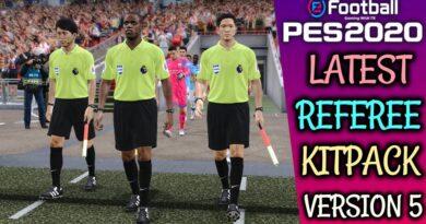 PES 2020 | REFEREE KITPACK | KITS SERVER V5 | DOWNLOAD & INSTALL