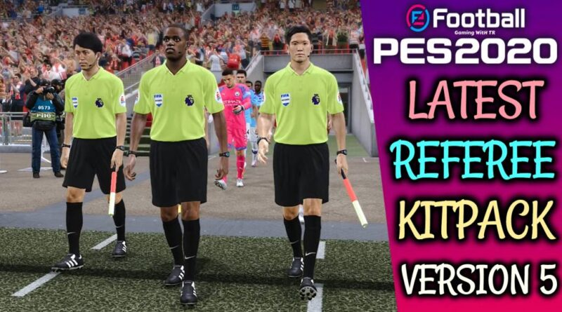 PES 2020 | REFEREE KITPACK | KITS SERVER V5 | DOWNLOAD & INSTALL