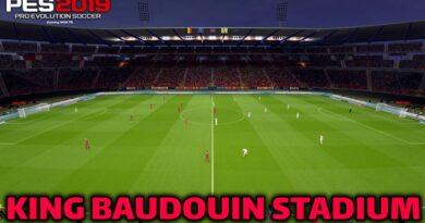 PES 2019 | NEW KING BAUDOUIN STADIUM | DOWNLOAD & INSTALL