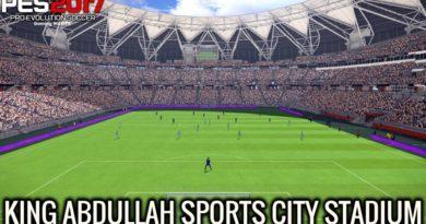 PES 2017 | KING ABDULLAH SPORTS CITY STADIUM | DOWNLOAD & INSTALL