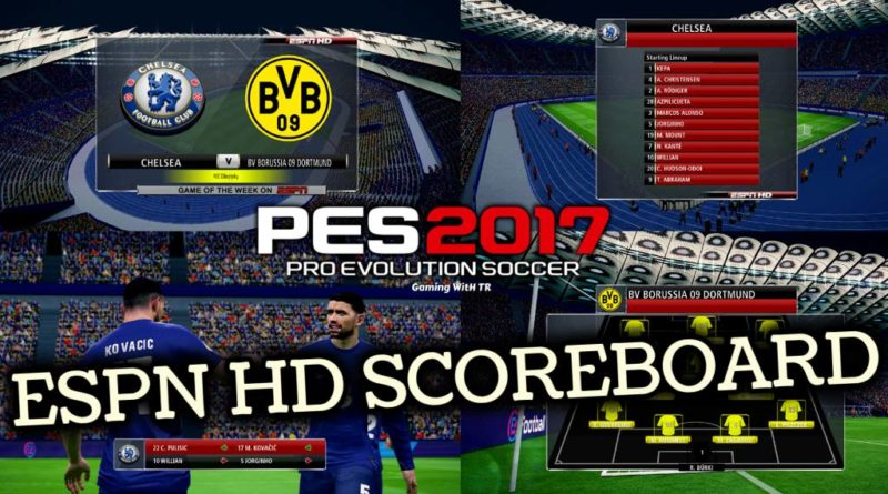 PES 2017 | ESPN HD SCOREBOARD | DOWNLOAD & INSTALL
