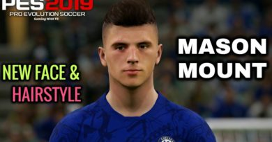 PES 2019 | MASON MOUNT | NEW FACE & NEW HAIRSTYLE | DOWNLOAD & INSTALL