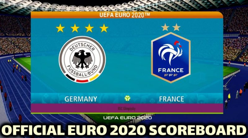 PES 2017 | OFFICIAL EURO 2020 SCOREBOARD | CONVERTED FROM PES 2020 | DOWNLOAD & INSTALL