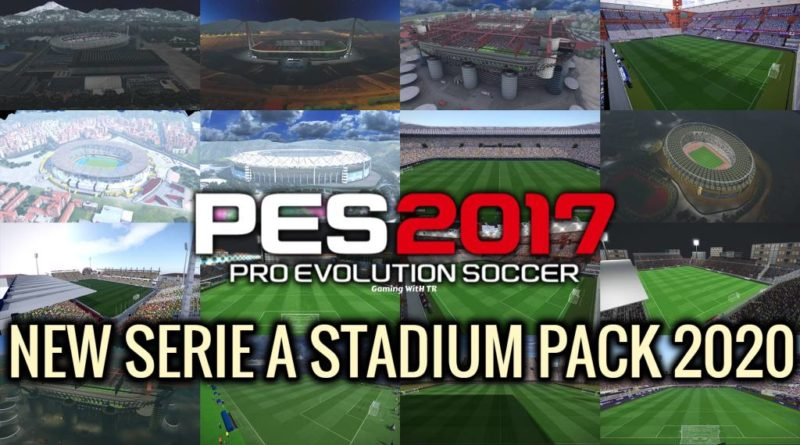 PES 2017 | NEW SERIE A STADIUM PACK 2020 | DOWNLOAD & INSTALL