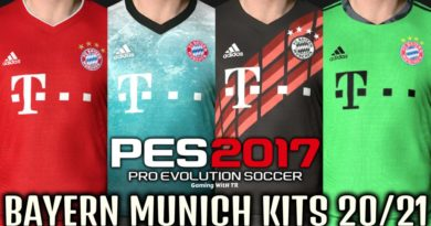 PES 2017 | BAYERN MUNICH KITS 2020/2021 | UNOFFICIAL VERSION | DOWNLOAD & INSTALL
