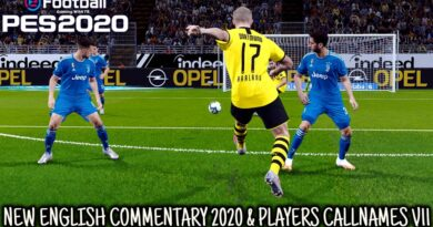 PES 2020 | NEW ENGLISH COMMENTARY 2020 & PLAYERS CALLNAMES V11 | DOWNLOAD & INSTALL