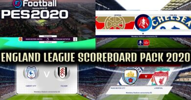PES 2020 | ENGLAND LEAGUE SCOREBOARD PACK 2020 | DOWNLOAD & INSTALL