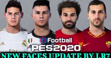PES 2020   NEW FACES UPDATE BY LR7   DOWNLOAD & INSTALL