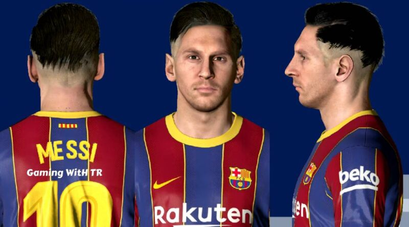 Pes 2017 Lionel Messi New Hairstyle Face Pes 2017 Gaming With Tr