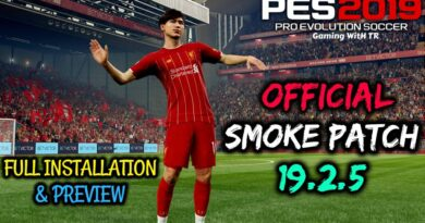 PES 2019 | OFFICIAL SMOKE PATCH 19.2.5 | FULL INSTALLATION & PREVIEW