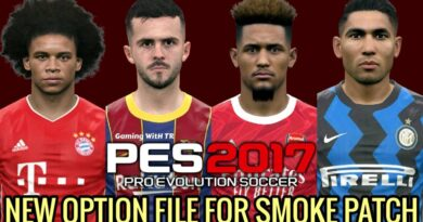 PES 2017 | NEW OPTION FILE | SMOKE PATCH | DOWNLOAD & INSTALL
