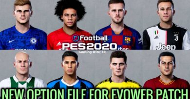 PES 2020 | NEW OPTION FILE | EVOWEB PATCH | DOWNLOAD & INSTALL