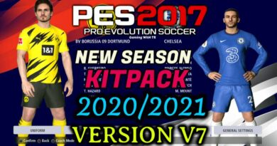 PES 2017   NEW SEASON KITPACK 2020/2021   UNOFFICIAL V7   DOWNLOAD & INSTALL