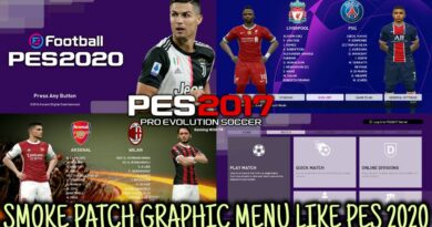 PES 2017 | NEW SMOKE PATCH GRAPHIC MENU LIKE PES 2020 | DOWNLOAD & INSTALL
