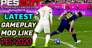 PES 2017 | LATEST GAMEPLAY MOD LIKE PES 2020 | DOWNLOAD & INSTALL