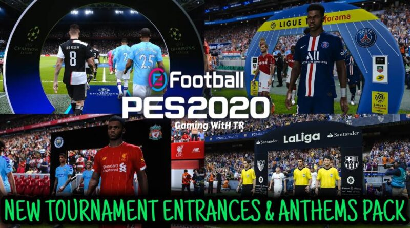 PES 2020 | NEW TOURNAMENT ENTRANCES & ANTHEMS PACK | ALL IN ONE | DOWNLOAD & INSTALL