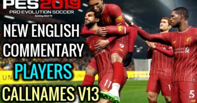 PES 2019   NEW ENGLISH COMMENTARY 2020 & PLAYERS CALLNAMES V13   DOWNLOAD & INSTALL