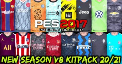 PES 2017 | NEW SEASON KITPACK 2020/2021 | UNOFFICIAL V8 | DOWNLOAD & INSTALL