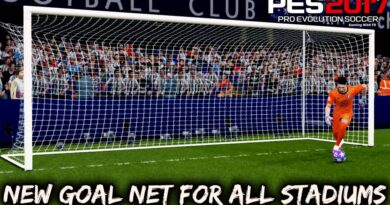 PES 2017 | NEW GOAL NET FOR ALL STADIUMS | DOWNLOAD & INSTALL