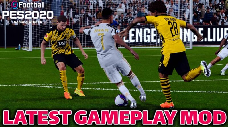 PES 2020 | LATEST GAMEPLAY MOD | THE NEW REAL SOCCER GAMING | DOWNLOAD & INSTALL