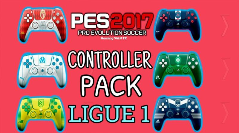 PES 2017 | NEW CONTROLLER PACK | LIGUE 1 VERSION | DOWNLOAD & INSTALL