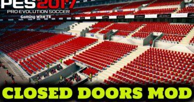 PES 2017   CLOSED DOORS MOD   NO CROWD   DOWNLOAD & INSTALL