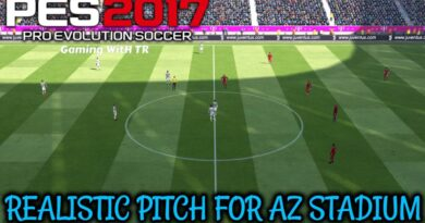 PES 2017   REALISTIC PITCH FOR AZ STADIUM PACK   DOWNLOAD & INSTALL
