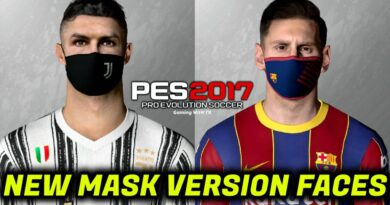 PES 2017 | NEW MASK VERSION FACES | RONALDO & MESSI | DOWNLOAD & INSTALL