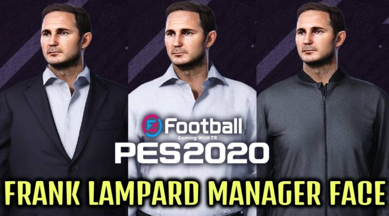 PES 2020 | FRANK LAMPARD MANAGER FACE | DOWNLOAD & INSTALL