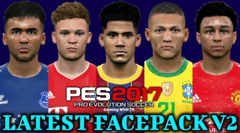 PES 2017 | LATEST FACEPACK V2 | DOWNLOAD & INSTALL