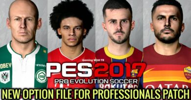 PES 2017 | NEW OPTION FILE | PROFESSIONALS PATCH | DOWNLOAD & INSTALL