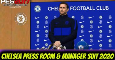 PES 2017 | CHELSEA PRESS ROOM & MANAGER SUIT 2020 | DOWNLOAD & INSTALL