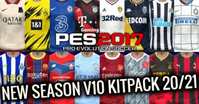 PES 2017 | NEW SEASON KITPACK 2020/2021 | ALL IN ONE V10 | DOWNLOAD & INSTALL