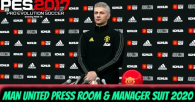 PES 2017   MANCHESTER UNITED PRESS ROOM & MANAGER SUIT 2020   DOWNLOAD & INSTALL