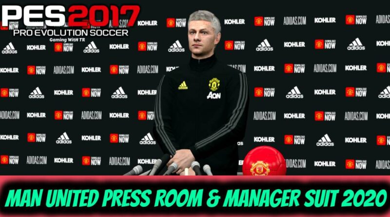 PES 2017 | MANCHESTER UNITED PRESS ROOM & MANAGER SUIT 2020 | DOWNLOAD & INSTALL