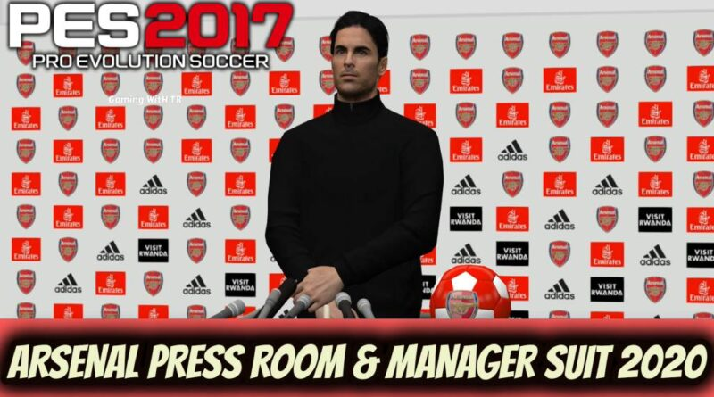 PES 2017 | ARSENAL PRESS ROOM & MANAGER SUIT 2020 | DOWNLOAD & INSTALL