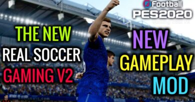 PES 2020 | NEW GAMEPLAY MOD | THE NEW REAL SOCCER GAMING V2 | DOWNLOAD & INSTALL