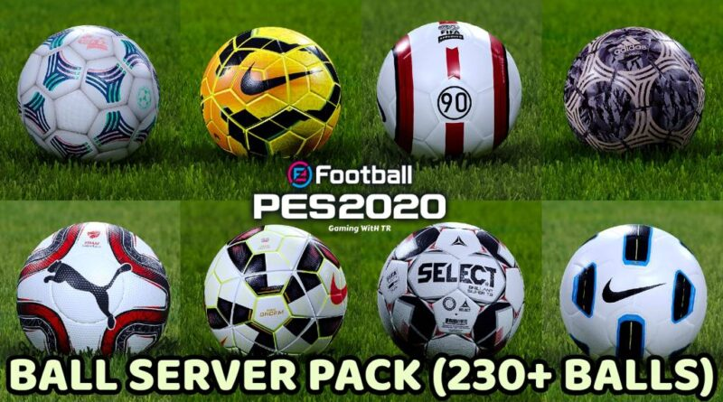 PES 2020 | BALL SERVER PACK | 230+ BALLS | VERSION 10 | DOWNLOAD & INSTALL