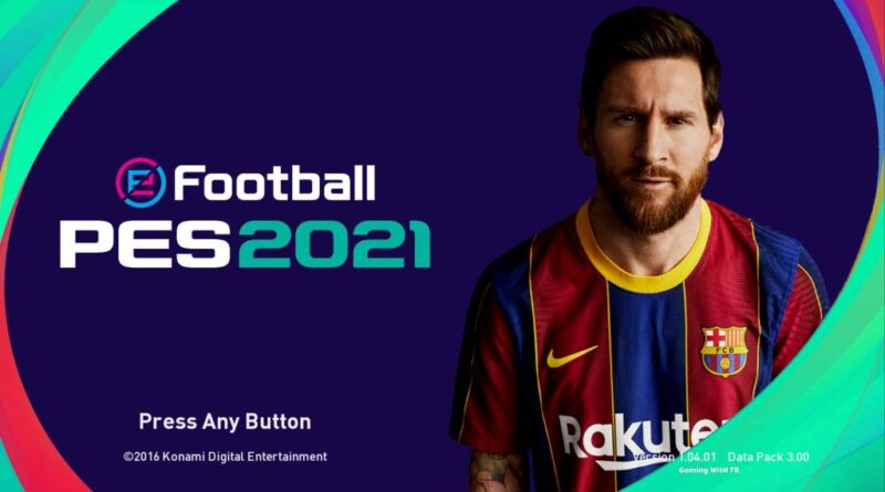 PES 2017 | NEW EFOOTBALL PES 2021 GRAPHIC MENU | DOWNLOAD & INSTALL