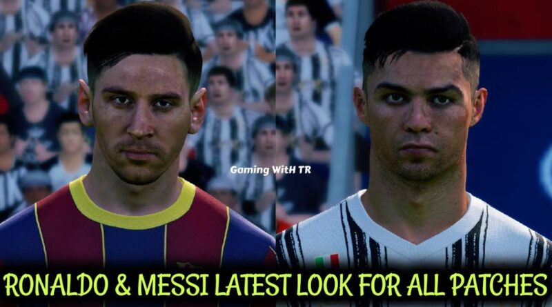 PES 2017 | RONALDO & MESSI | LATEST LOOK FOR ALL PATCHES | DOWNLOAD & INSTALL