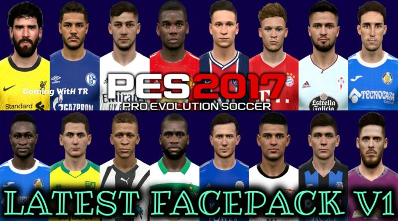 PES 2017 | LATEST FACEPACK V1 | DOWNLOAD & INSTALL