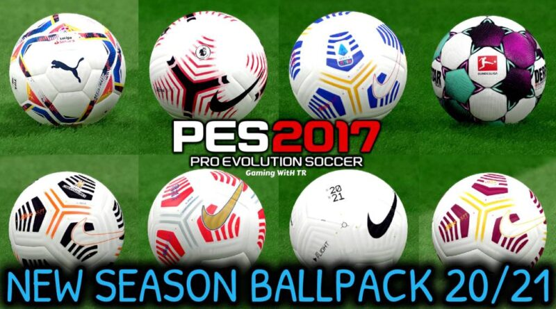 PES 2017 | NEW SEASON BALLPACK 2020/2021 | DOWNLOAD & INSTALL
