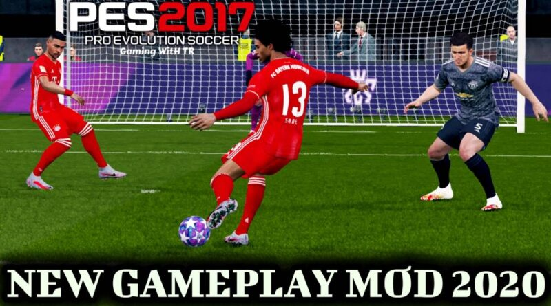 PES 2017 | NEW GAMEPLAY MOD 2020 | DOWNLOAD & INSTALL