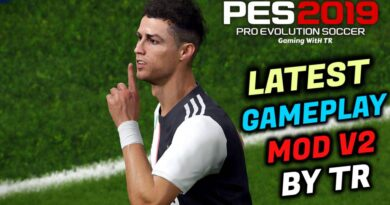 PES 2019 | LATEST GAMEPLAY MOD V2 BY TR | DOWNLOAD & INSTALL
