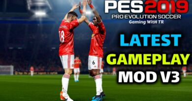 PES 2019 | LATEST GAMEPLAY MOD V3 | DOWNLOAD & INSTALL