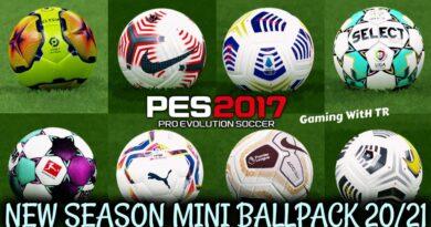 PES 2017 | NEW SEASON MINI BALLPACK 20/21 | DOWNLOAD & INSTALL